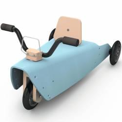 Porteur moto en bois fabriqué en France