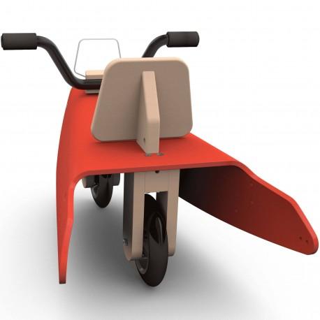 Draisienne moto en bois fabrication en France