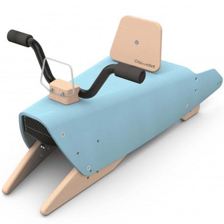Bascule + Porteur + Draisienne bébé moto en bois made in France