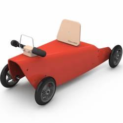 Porteur bébé voiture en bois fabrication en France