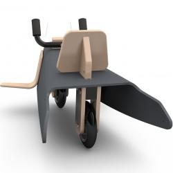 Draisienne avion en bois fabrication en France