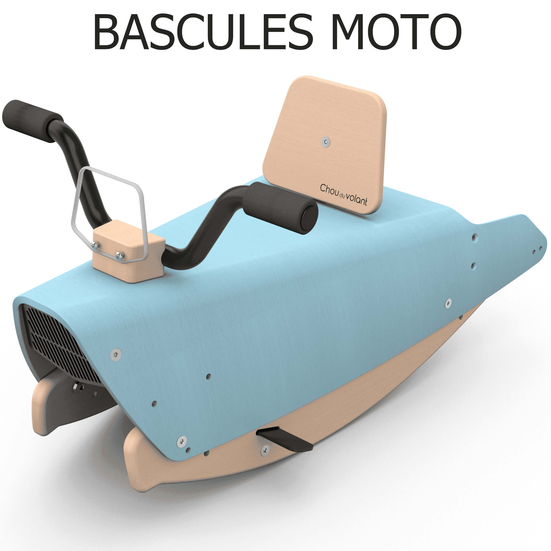 Bascules moto en bois made in France pour bébé 1+