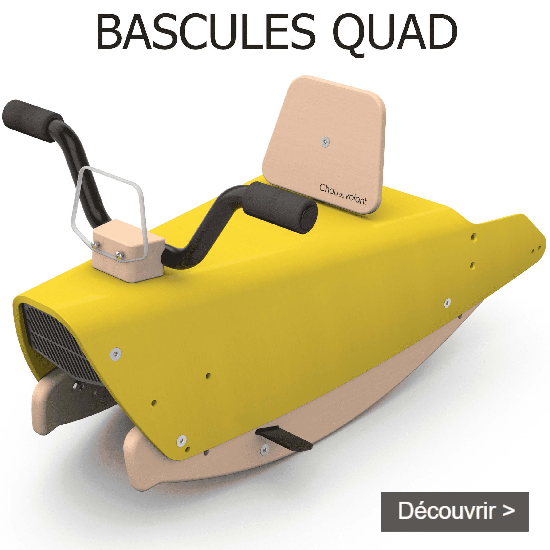 Bascules quad en bois made in France pour bébé 1+
