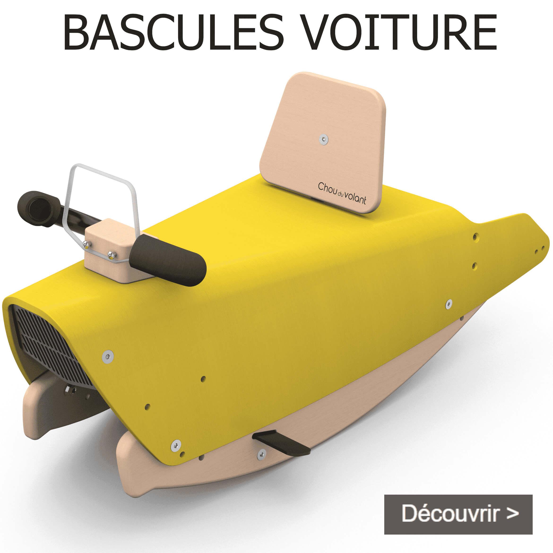 Bascules voiture en bois made in France pour bébé 1+