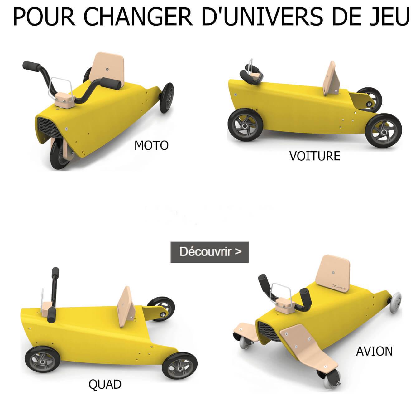 Pièces détachées pour porteurs draisiennes bascules made in France