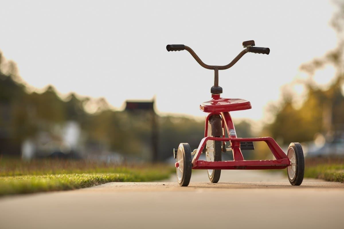 Tricycle a quel age