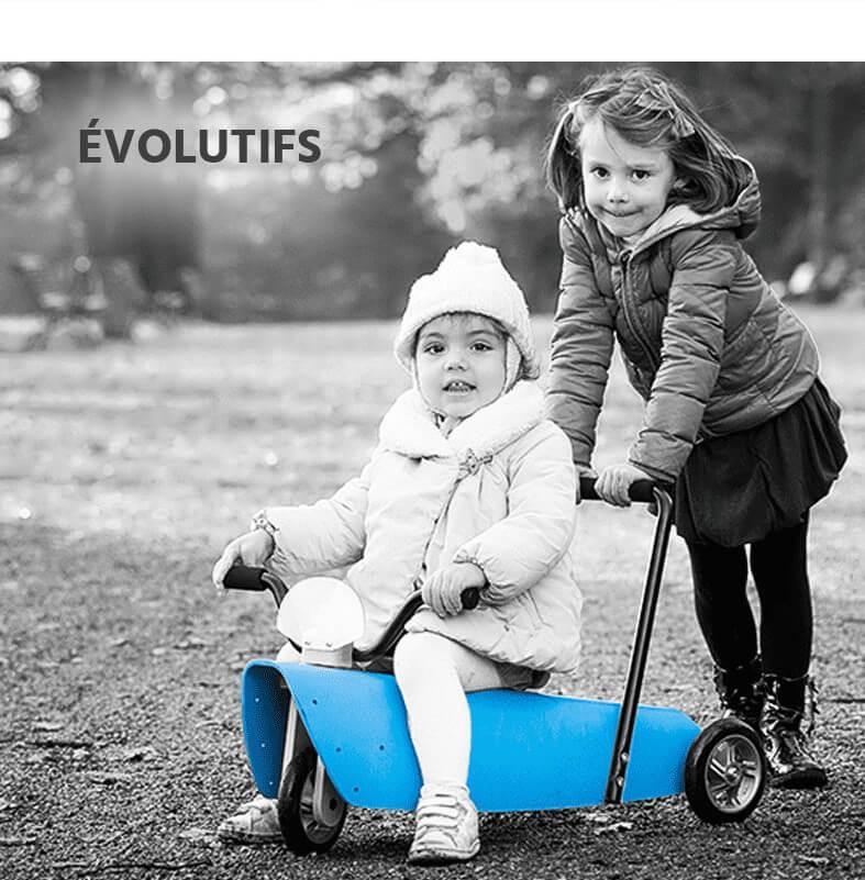Bascules bébé évolutives et porteurs bébé évolutifs